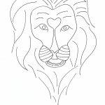 Coloriage-maternelle-lion
