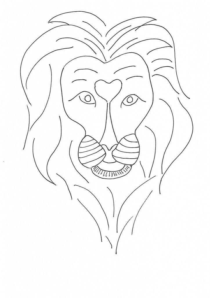 Coloriage lion maternelle afrocaneo carrefour culturel afrique monde - Coloriage zebre a imprimer ...