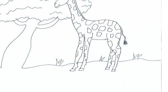 girafe maternelle