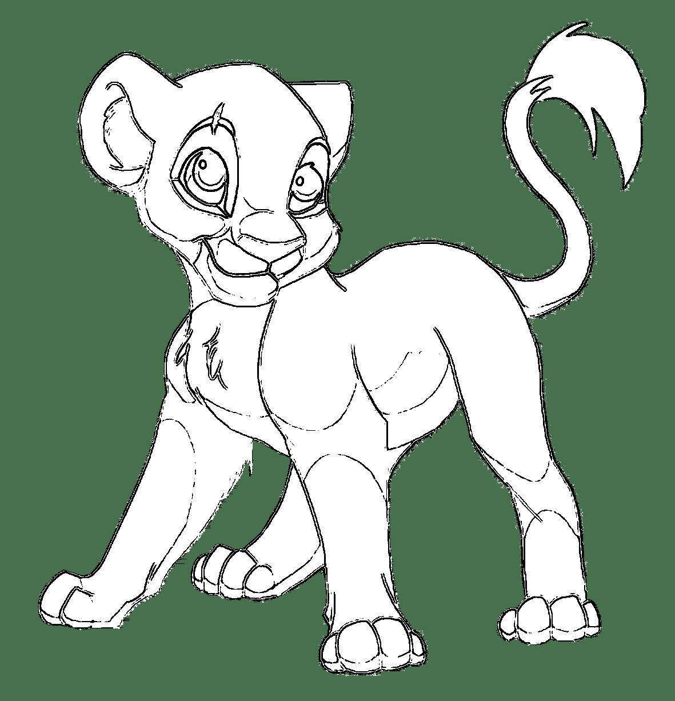 Coloriage roi lion à imprimer - Afrocaneo - Carrefour ...