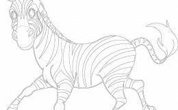 zebre afrique maternelle