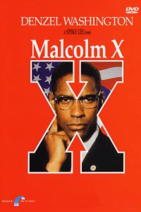 """Affiche du film """"Malcolm X"""""""