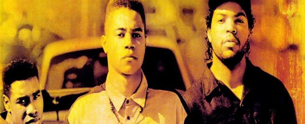 "Affiche du film ""Boyz'n the Hood, la loi de la rue"""
