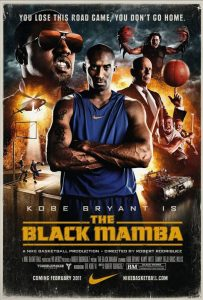 "Affiche du film ""The Black Mamba"""