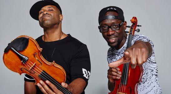 black violon
