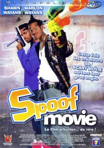 "Affiche du film ""Spoof movie"""
