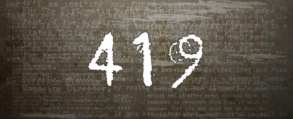 "Affiche du film ""419"""