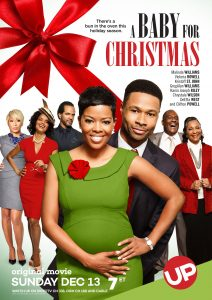 "Affiche du film ""A Baby for Christmas"""