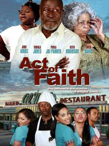 "Affiche du film ""Act of Faith"""