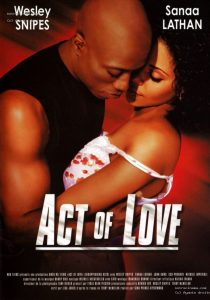 """Affiche du film """"Acte d'amour"""""""