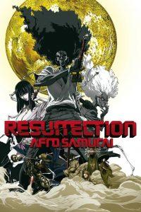 "Affiche du film ""Afro Samurai Resurrection"""