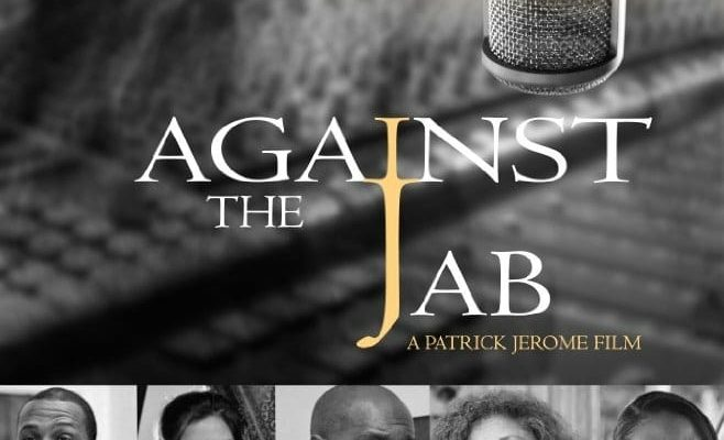 """Affiche du film """"Against The Jab"""""""