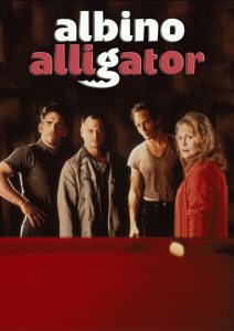 "Affiche du film ""Albino Alligator"""
