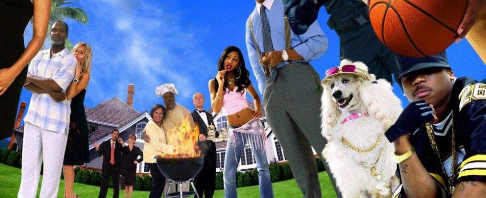 "Affiche du film ""Barbecue Party"""