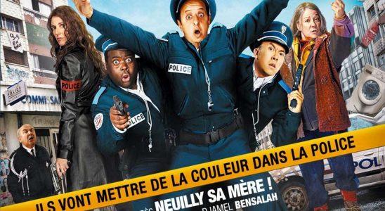 """Affiche du film """"Beur sur la ville"""""""
