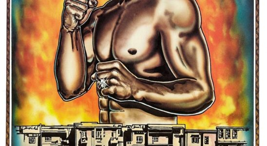 "Affiche du film ""Black Fist"""