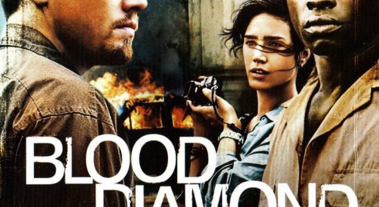 "Affiche du film ""Blood Diamond"""