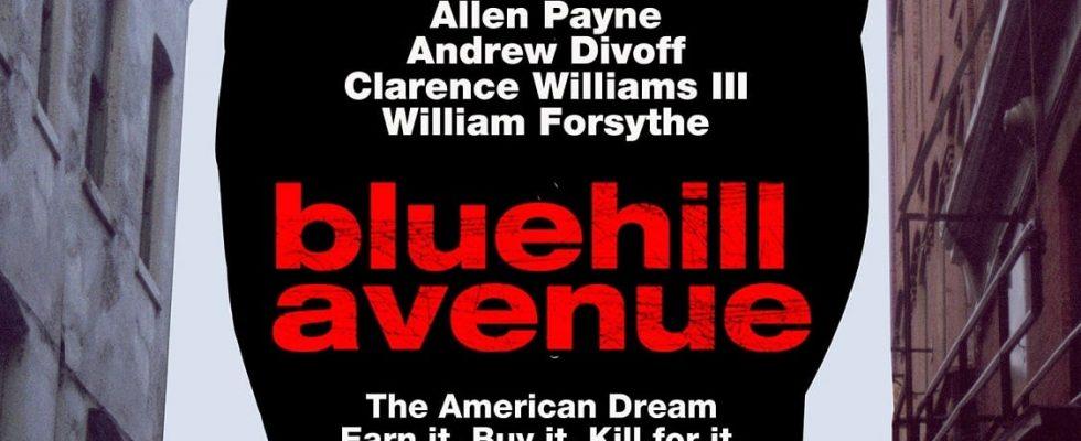 "Affiche du film ""Blue Hill Avenue"""