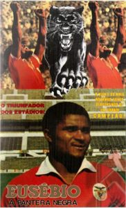 "Affiche du film ""Eusébio, The Black Panther"""