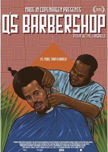 "Affiche du film ""Q's Barbershop"""