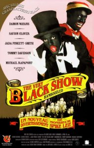 "Affiche du film ""The Very Black Show"""