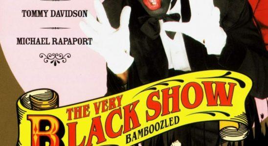 "Affiche du film ""The Very Black Show"""