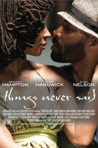 "Affiche du film ""Things Never Said"""