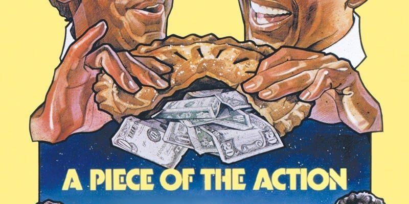 """Affiche du film """"Un morceau de l'action"""""""