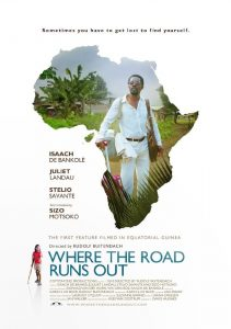 "Affiche du film ""Where the Road Runs Out"""