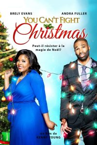 "Affiche du film ""You Can't Fight Christmas"""