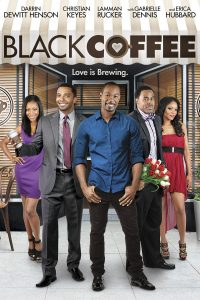 "Affiche du film ""Black Coffee"""