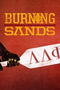 "Affiche du film ""Burning Sands"""