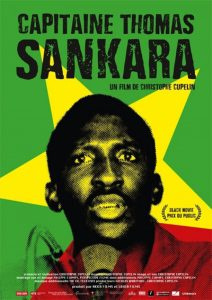 "Affiche du film ""Capitaine Thomas Sankara"""