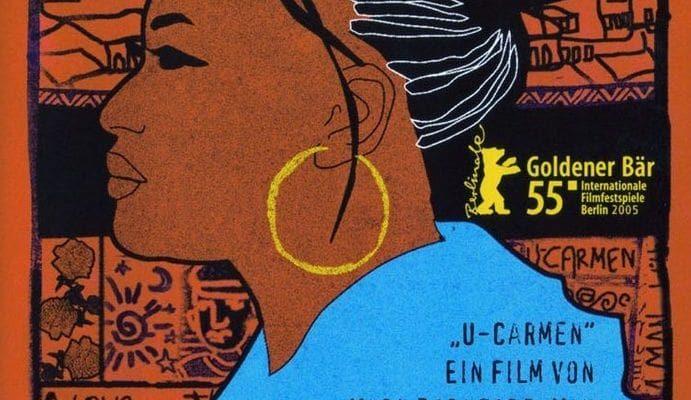 "Affiche du film ""Carmen de Khayelitsha"""