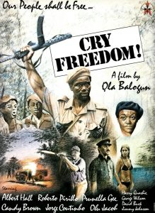 "Affiche du film ""Cry Freedom"""