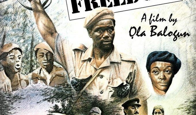 """Affiche du film """"Cry Freedom"""""""