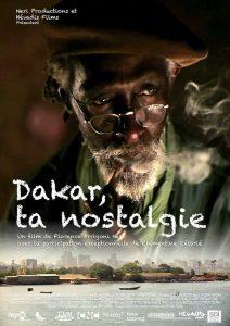 """Affiche du film """"Dakar, ta nostalgie"""""""