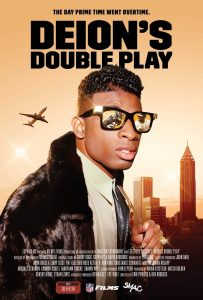 "Affiche du film ""Deion's Double Play"""