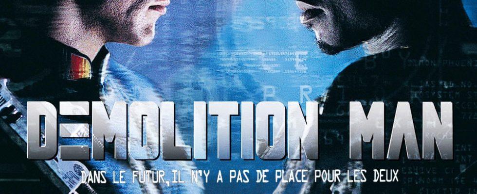 """Affiche du film """"Demolition man"""""""