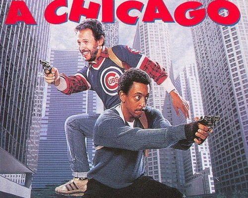 """Affiche du film """"Deux flics à Chicago"""""""