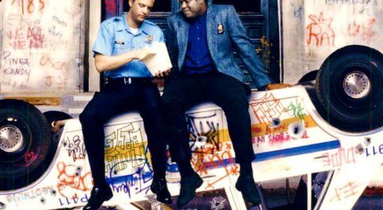 """Affiche du film """"Deux flics à Downtown"""""""