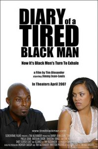 "Affiche du film ""Diary of a Tired Black Man"""
