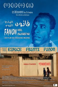 """Affiche du film """"Fanon hier, aujourd'hui"""""""