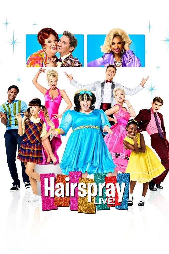 """Affiche du film """"Hairspray Live!"""""""