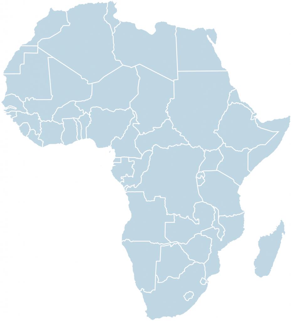 carte-afrique-bleu